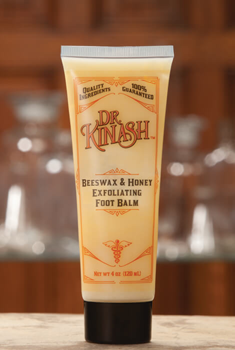 Dr. Kinash™ Beeswax & Honey Foot Balm, 4 oz.
