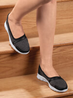 Footwear - Healthy Steps™ Feather Lite Slip-On Shoes
