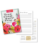 Household & Gifts - Weekly Agenda Planner - Think of All the Beauty