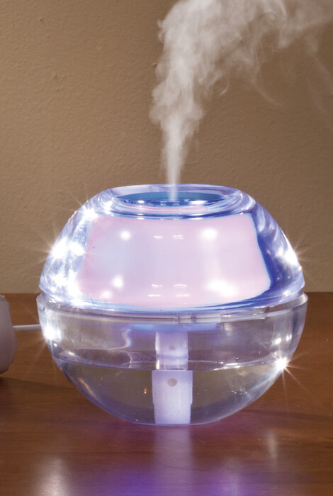 USB Humidifier & Diffuser with LED Night Light - View 1