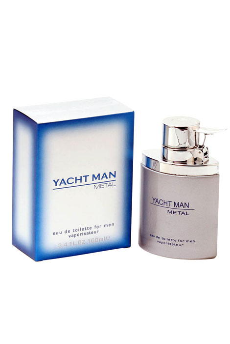 Yacht Man Metal Men, EDT Spray 3.4oz