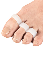 Foot Care - Silver Steps™ Antibacterial Triple Loop Separator, 1 Pair