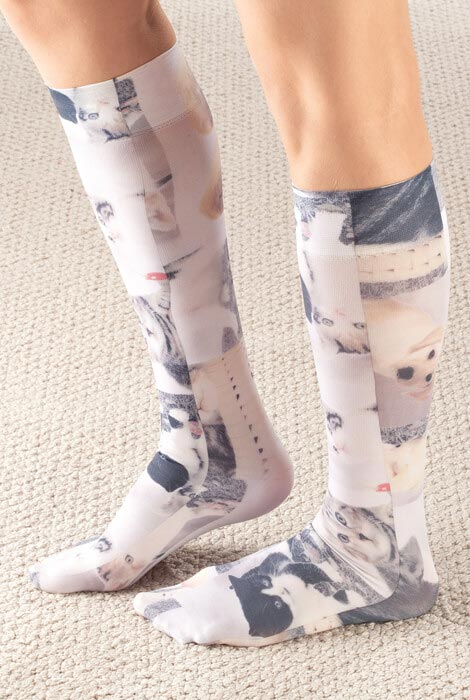 Celeste Stein Pet Lovers Compression Socks, 15–20 mmHg - View 1