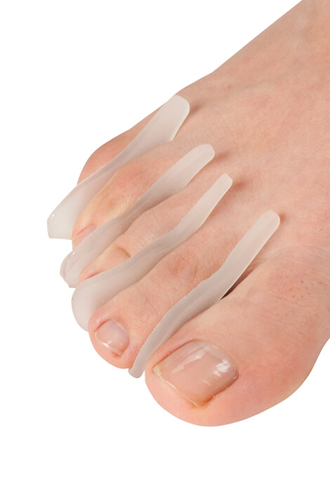 Silver Steps™ Gel Toe Separators, Set of 8