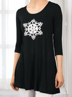 Clothing & Accessories - Snowflake Tunic