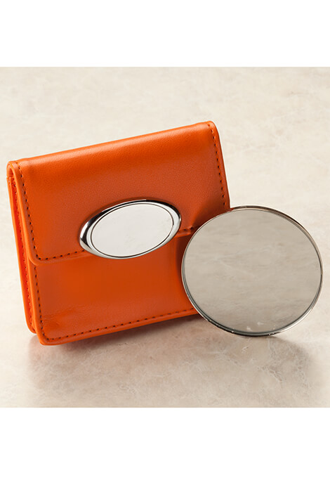 Orange Case with Mirror