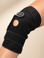 Supports & Braces - Electronic Pain Relief Therapy Knee Wrap