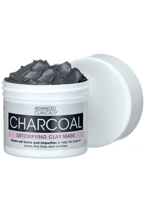 Advanced Clinicals® Charcoal Detoxifying Clay Mask