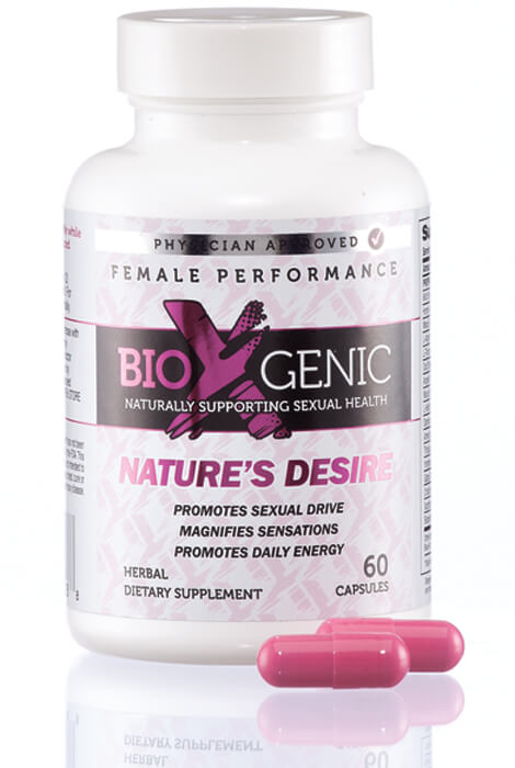 BioXGenic Nature's Desire Female Enhancement Capsules