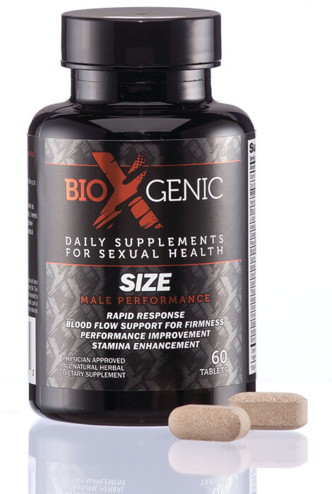 BioXGenic Size Male Performance Tablets