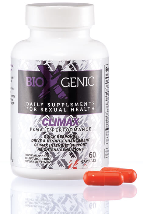 BioXGenic Climax Female Performance Capsules - View 1