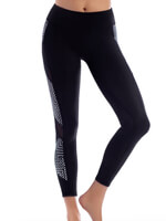 Fitness Swimwear - Swim Performance Grid Lock  Active Swim Paddle Pant