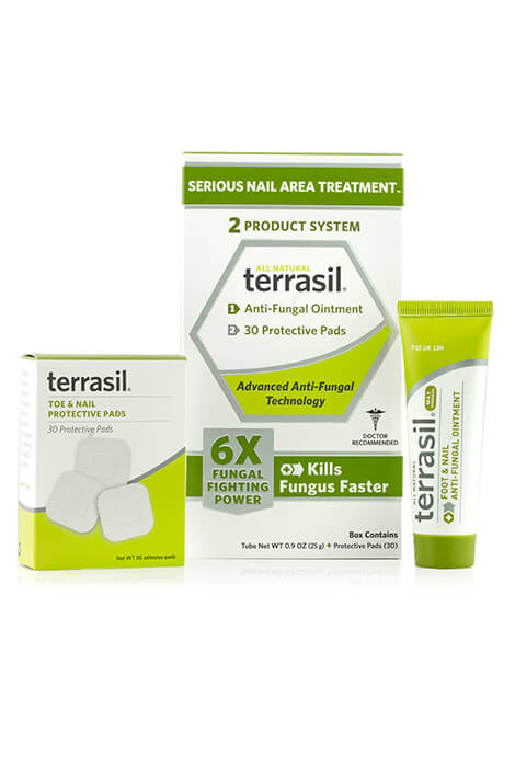 Terrasil® 2 Product System - Serious Nail Area Treatment