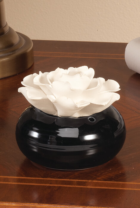 Ceramic Flower Aromatherapy Diffuser