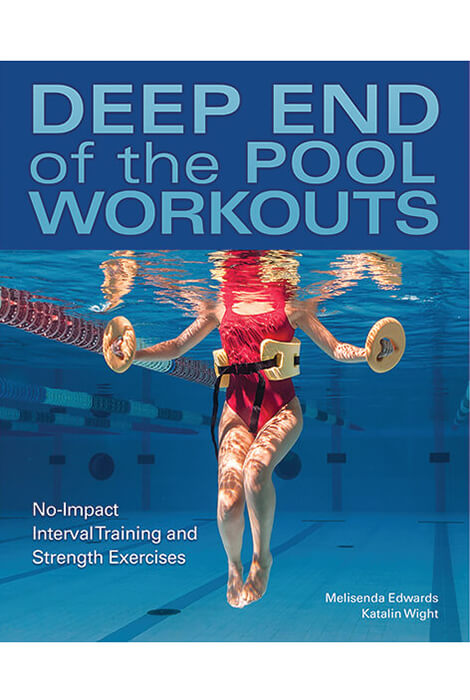 Deep End of the Pool Workouts Book Easy guide to the hot new trend in full-body, no-impact exercise - pool workouts using water resistance techniques, where your feet never touch the bottom!These workouts are kinder to your joints while producing amazing results. Detailed tips on proper form and technique making you gain maximum benefits including greater: Speed, Power, Strength, and flexibility.Should you be less than satisfied with your swimwear purchase, simply return it to us within 15 days.