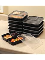 Household & Gifts - 20-Piece Microwavable Storage Set
