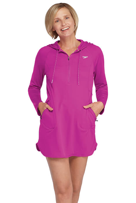 Speedo® Cover Up Hoodie Dress