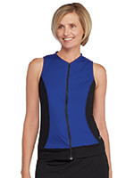 Speedo® - Speedo® Zip Front Tankini Top