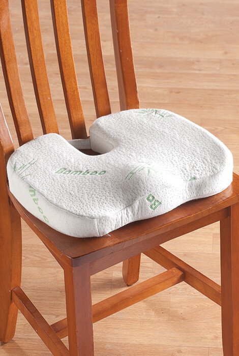 Bamboo Seat Cushion - View 1