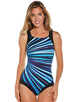 Swim - Reebok® Depth Defying High Neck Suit