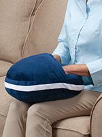 Hot & Cold Therapy - Plush Warming Pillow with Hot Water Bottle