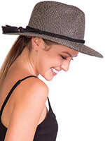 Travel Made Easy - Taylor UPF 50 + Packable Tweed Sun Hat by Physician Endorsed