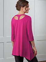 slimU™ - slimU™ Back Detail Tunic