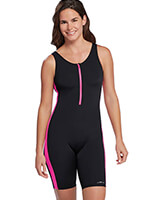 Fitness Swimwear - Aquashape® Zip Front Aquatard by Dolphin®