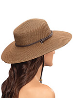Hats, Scarves & Gloves - Sloggers® Wide Brim Braided Hat