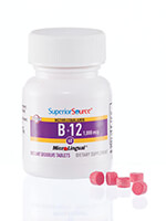 Vitamins & Supplements - Superior Source® Vitamin B-12 Instant Dissolve Tablets
