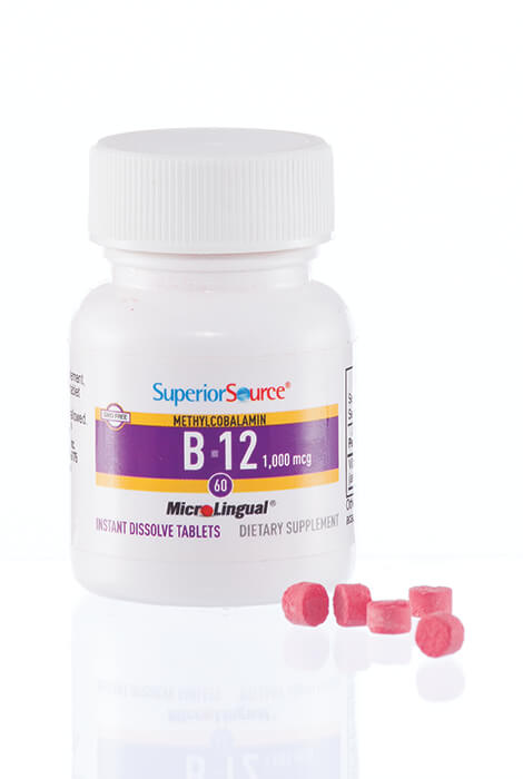 Superior Source® Vitamin B-12 Instant Dissolve Tablets