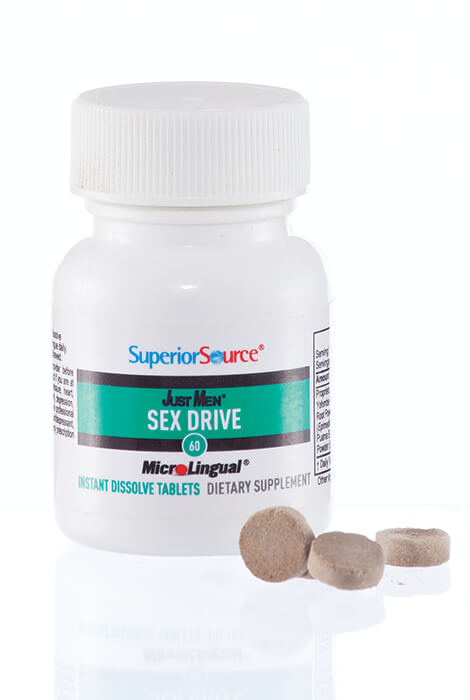 Superior Source® Just Men Sex Drive Instant Dissolve Tablets