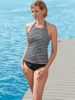 Save $10 On Each - SlimU™ Halter Tankini Top