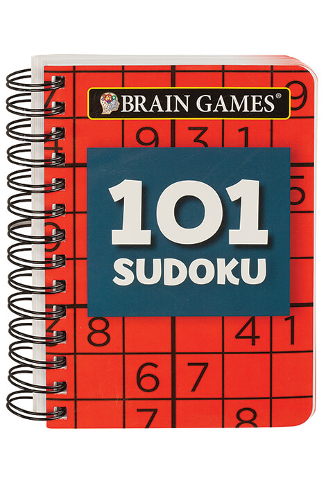 BRAIN GAMES®  Mini 101 Sudoku