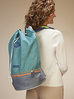 Travel Made Easy - Throwback Daypack by Fitkicks®