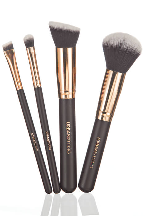 Urban Studio Rose Gold Pro Signature Collection Brushes - View 1