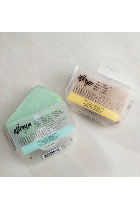 AfterSpa™ Soap + Sponge 2 in 1 - View 1