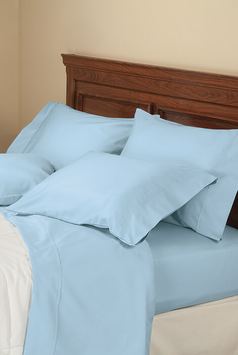 6-Piece 1000 TC Cotton Rich Sheet Set