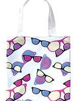 Handbags & Belts - UV Color Changing Tote Sunglasses