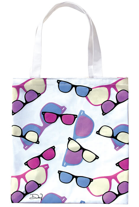UV Color Changing Tote - Sunglasses - View 1