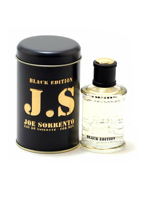 Jeanne Arthes Joe Sorrento Black Ed. Men, EDT Spray 3.3oz