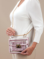 Handbags & Belts - Stadium Bag 2-Piece Pink