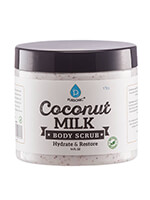 Hand, Foot & Body Care - Pursonic® Coconut Milk Hydrate & Restore Body Scrub