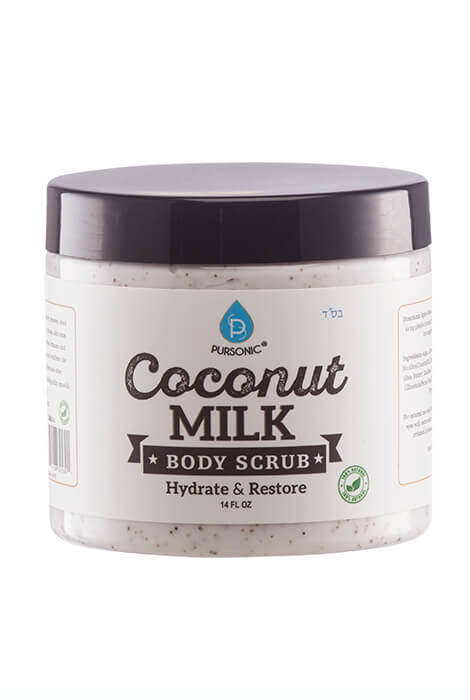 Pursonic® Coconut Milk Hydrate & Restore Body Scrub