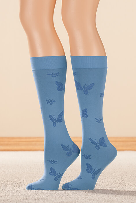 Butterfly Support Knee Highs
