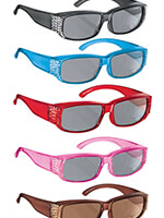Eye Care & Eyewear - Jazzy Jewel Fit Over Sunglasses