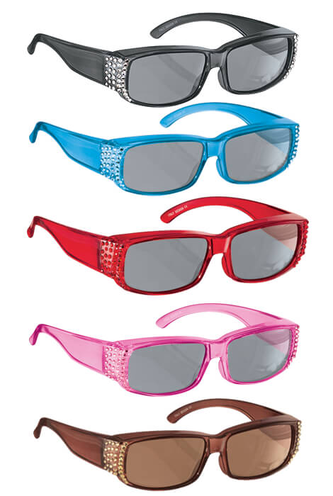 Jazzy Jewel Fit-Over Sunglasses