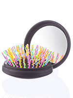 Hair - Rainbow Volume S Brush Compact with Mirror