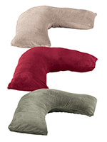 Rest & Relaxation - Plush L-Shaped Pillow Cover by LivingSURE™