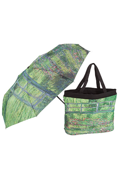 Monet Umbrella & Tote Bag Set